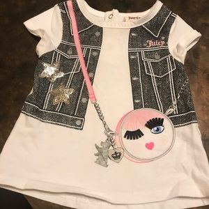 Infant juicy couture shirt